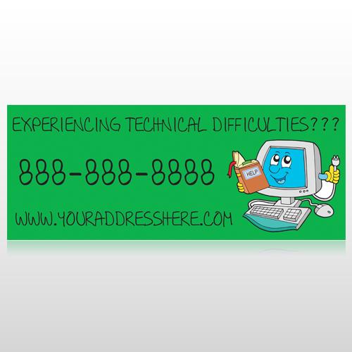 Cartoon Computer 431 Banner