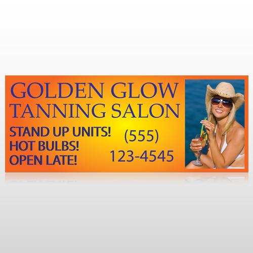 Golden Glow 491 Custom Banner