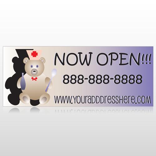 Nurse Bear 504 Banner