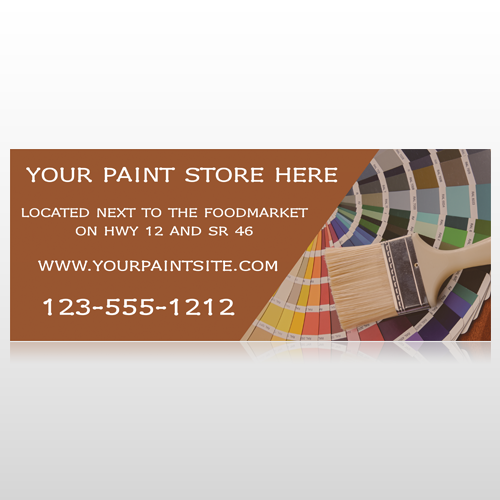 Paint Brushes 256 Banner