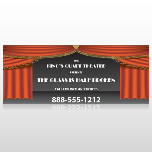 Theatre Curtains 521 Banner