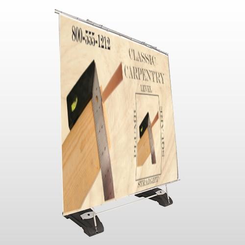 Carpentry 238 Exterior Pocket Banner Stand