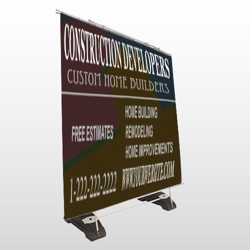 Chimney 632 Exterior Pocket Banner Stand