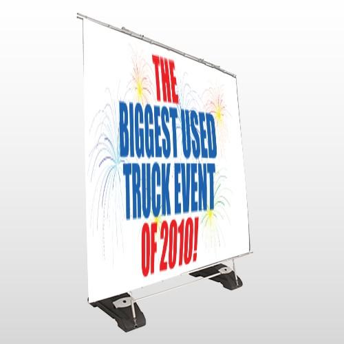 Fireworks 118 Exterior Pocket Banner Stand