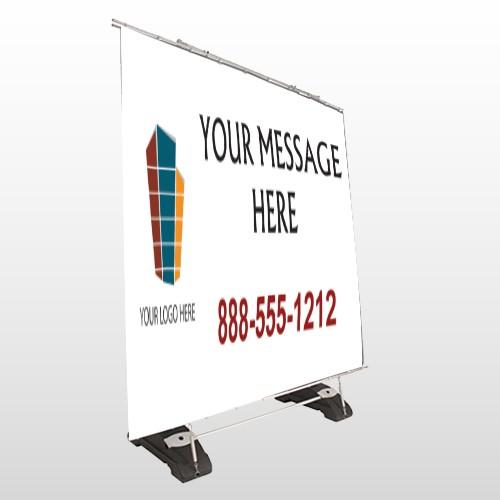 Mortgage 159 Exterior Pocket Banner Stand