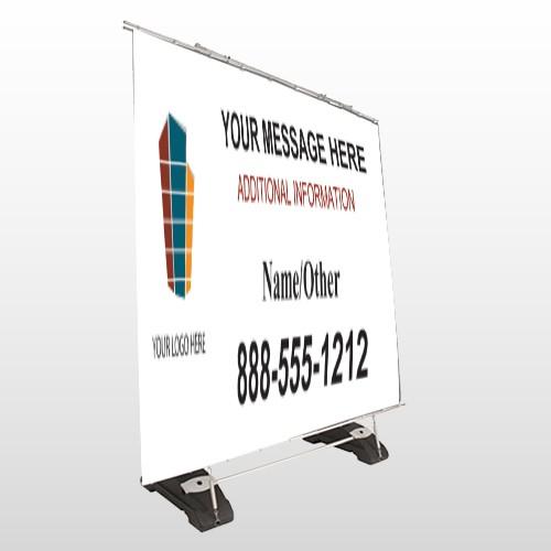 Mortgage 177 Exterior Pocket Banner Stand