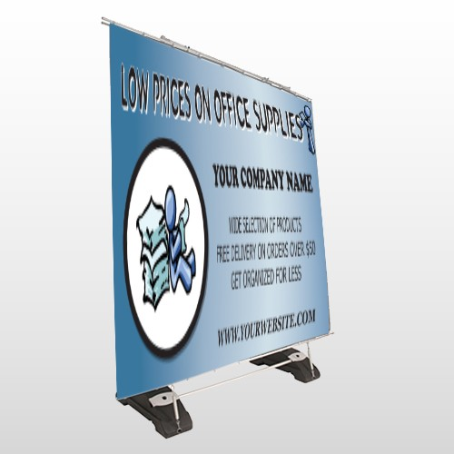 Paper And Figure 146 Exterior Pocket Banner Stand