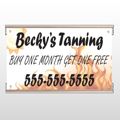 Tanning 298 Track Banner