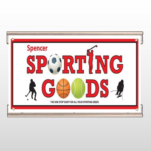 Sporting Goods 528 Track Banner