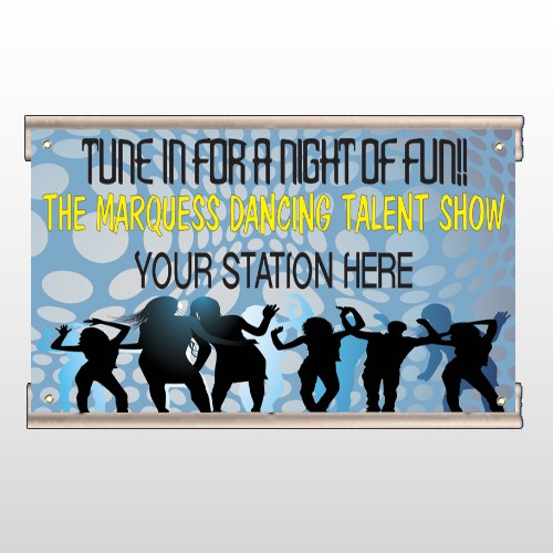 Talent Show 440 Track Banner