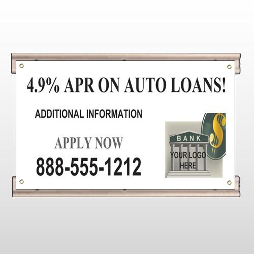 Auto Loan 173 Track Sign