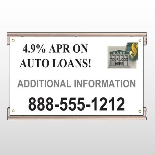 Auto Loan 155 Track Sign