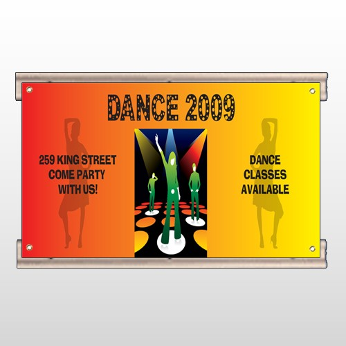Dance Disco 518 Track Sign