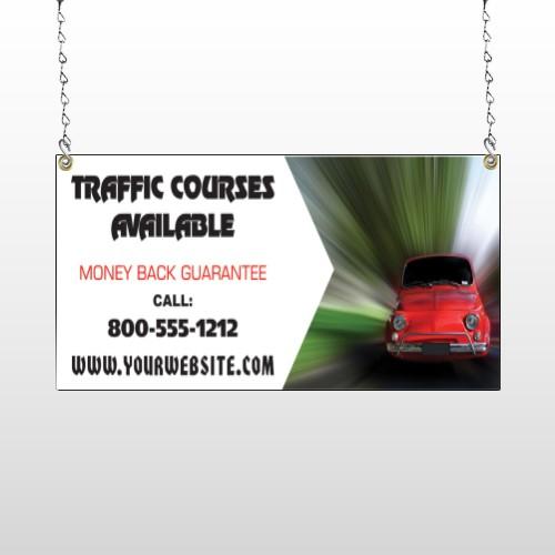 Car Traffic 153 Window Sign