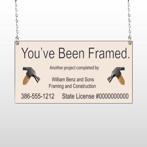 Framed 236 Window Sign