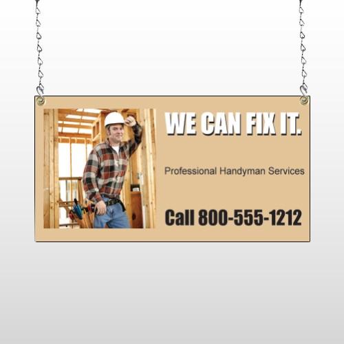 Handyman 240 Window Sign
