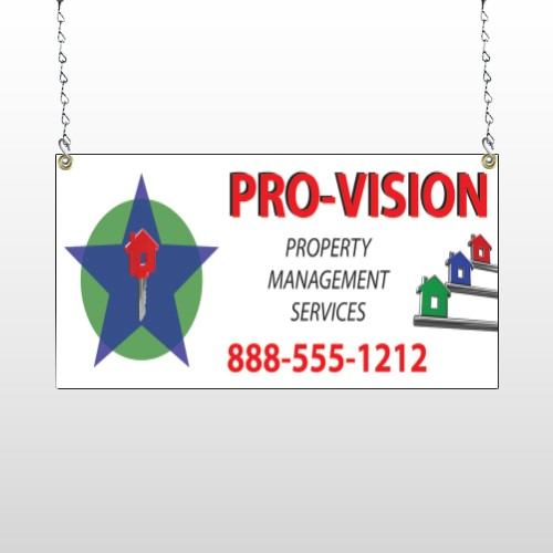 Property Management 363 Window Sign