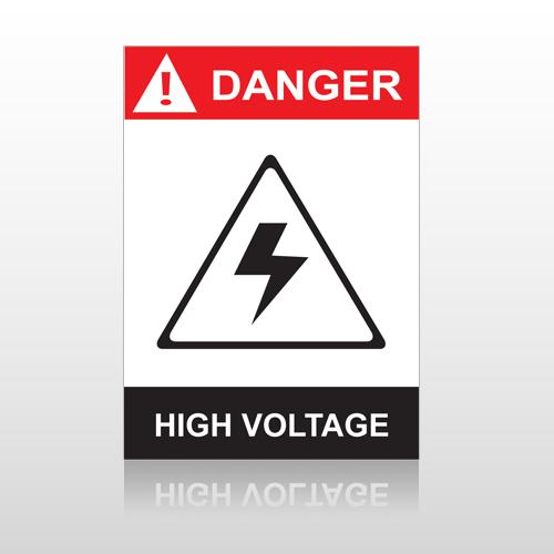 ANSI Danger High Votage