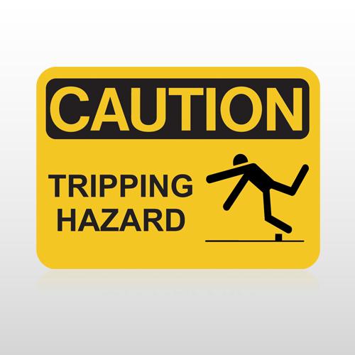 OSHA Caution Tripping Hazard