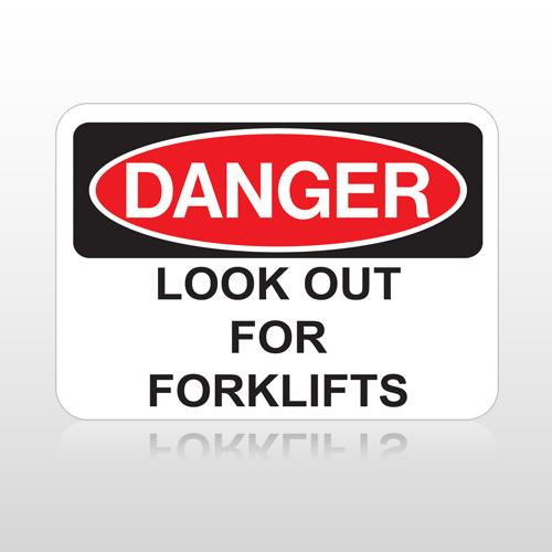 OSHA Danger Look Out For Forklifts