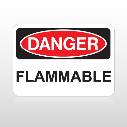 OSHA Danger Flammable