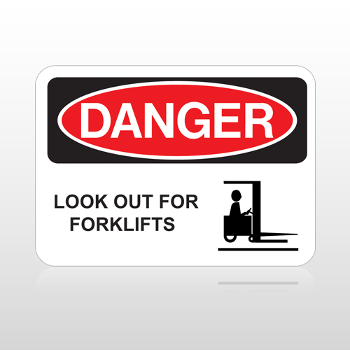 OSHA Danger Look Out For Forklifts