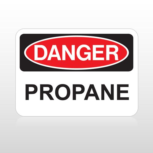 OSHA Danger Propane