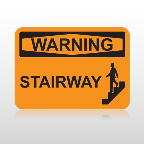 Osha Warning Stairway