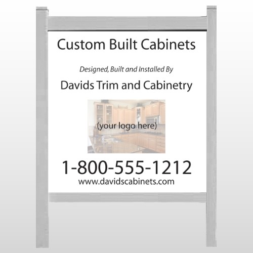 """Cabinet 241 48""""H x 48""""W Site Sign"""