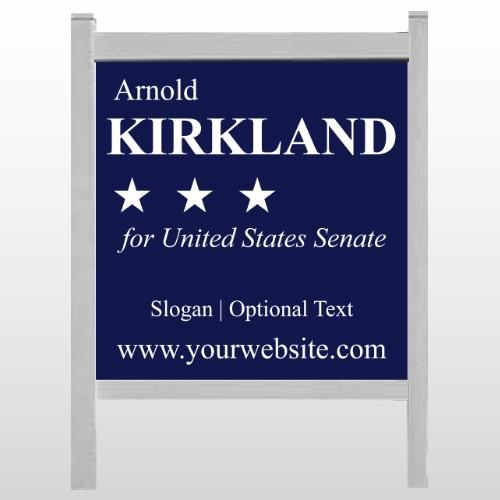 """Senate 134 48""""H x 48""""W Site Sign"""