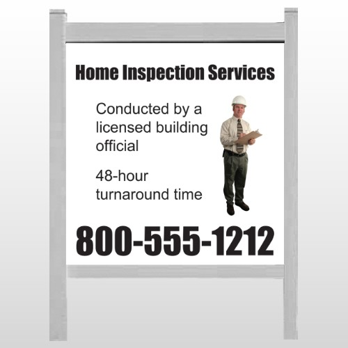 """Inspection 360 48""""H x 48""""W Site Sign"""
