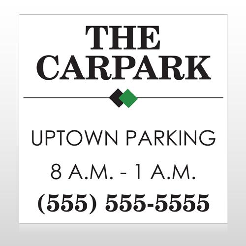 Car Park 122 Custom Banner