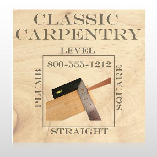 Carpentry 238 Custom Sign