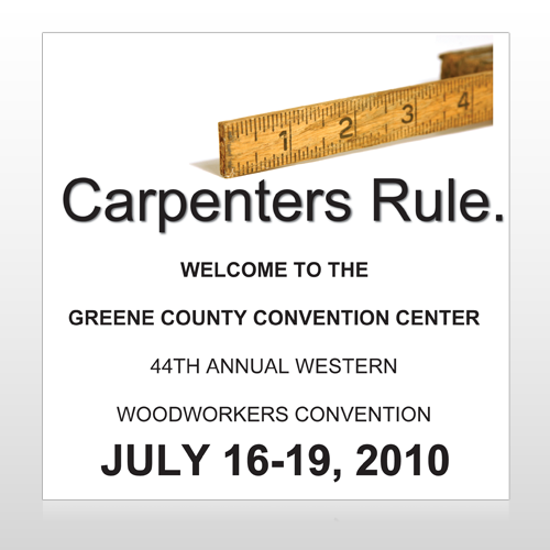 Convention 239 Site Sign