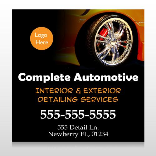 Detailing Services 115 Custom Banner