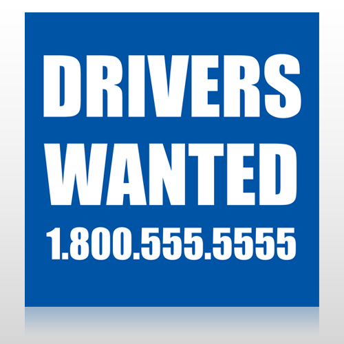 Drivers Wanted 314 Custom Banner