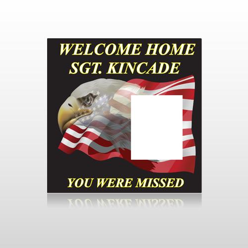 Eagle Flag 307 Site Sign
