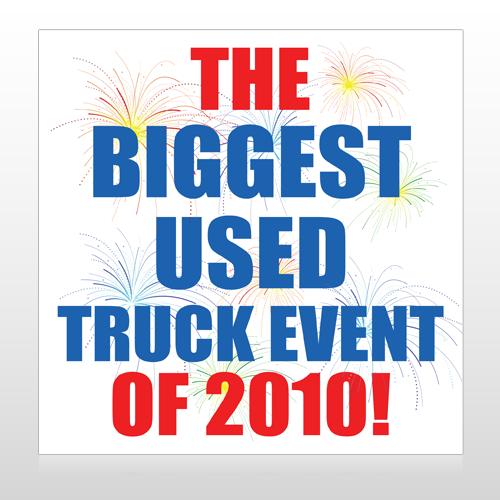Fireworks 118 Site Sign