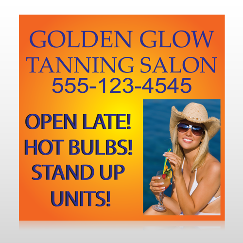 Golden Glow 491 Custom Sign