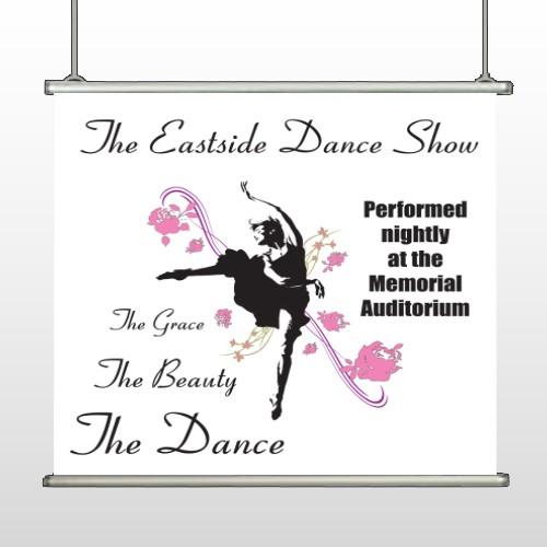 Ballet Dance 517 Hanging Banner