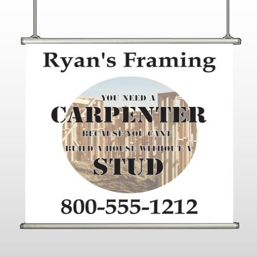 Framing 240 Hanging Banner
