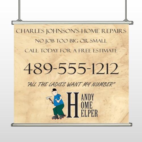 Home Repair 242 Hanging Banner