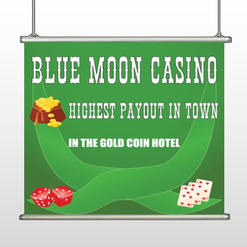 Gold Die Cards 524 Hanging Banner