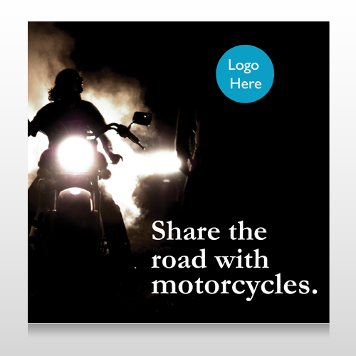 Motorcycle 106 Site Sign
