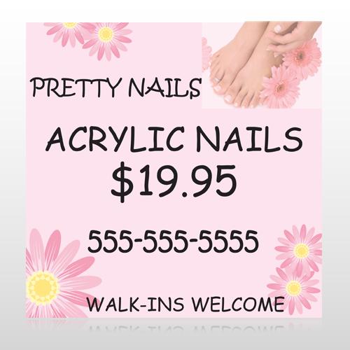 Nail Salon 291 Banner