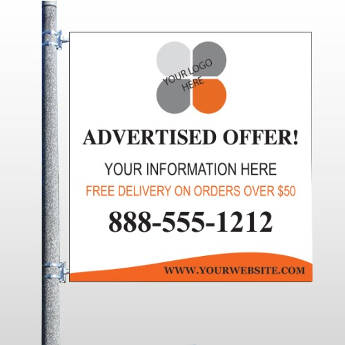 Advertised Offer 150 Pole Banner