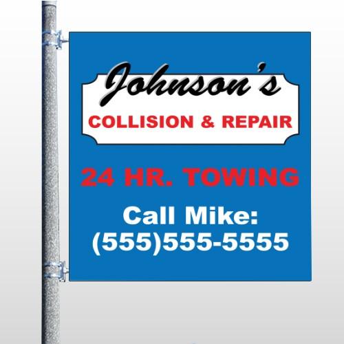 Repair 124 Pole Banner
