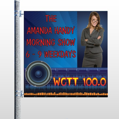 AMP Morning Show 439 Pole Banner