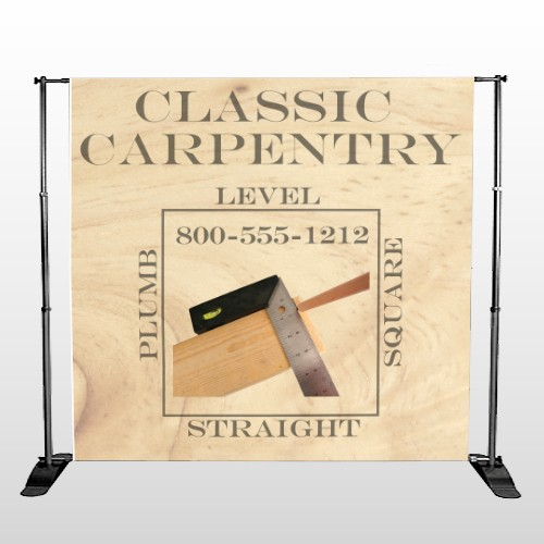 Carpentry 238 Pocket Banner Stand