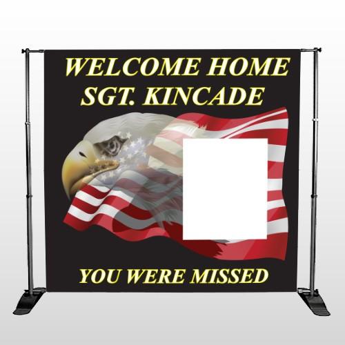 Eagle Flag 307 Pocket Banner Stand